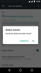 Como ativar e desativar uma rede de dados - Motorola Moto G5 - Passo 5