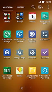 Como configurar seu celular para receber e enviar e-mails - Asus ZenFone Go - Passo 3