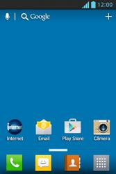 Como configurar pela primeira vez - LG Optimus L5 - Passo 1