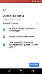 Como configurar seu celular para receber e enviar e-mails - Motorola Moto X4 - Passo 10