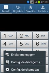 Como bloquear chamadas de um número específico - Samsung Galaxy Young - Passo 5