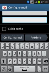 Como configurar seu celular para receber e enviar e-mails - Samsung Galaxy Young - Passo 6