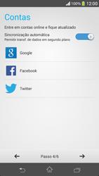 Como ativar seu aparelho - Sony Xperia SP - Passo 7