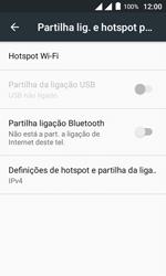 Como usar seu aparelho como um roteador de rede Wi-Fi - Alcatel Pixi 4 - Passo 5
