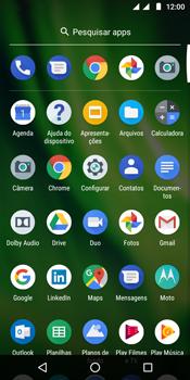 Como encontrar o número de IMEI do seu aparelho - Motorola Moto G6 Play - Passo 2
