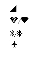 Explicação dos ícones - Motorola Moto C Plus - Passo 2