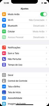 Como ativar e desativar o modo avião no seu aparelho - Apple iPhone 11 Pro - Passo 3