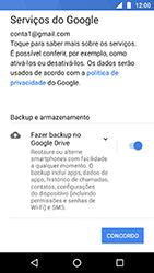 Como configurar seu celular para receber e enviar e-mails - Motorola Moto X4 - Passo 11