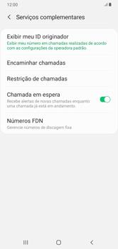 O celular não recebe chamadas - Samsung Galaxy A10 - Passo 17