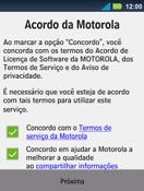 Como ativar seu aparelho - Motorola Master - Passo 7