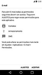 Como configurar seu celular para receber e enviar e-mails - LG X Power - Passo 9
