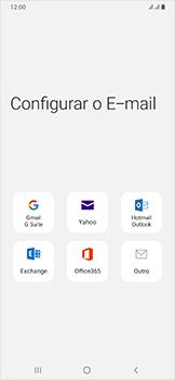 Como configurar seu celular para receber e enviar e-mails - Samsung Galaxy A50 - Passo 6