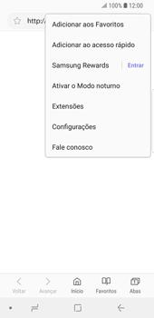 Como configurar a internet do seu aparelho (APN) - Samsung Galaxy S9 - Passo 22