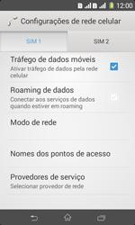 Como configurar a internet do seu aparelho (APN) - Sony Xperia E1 - Passo 5