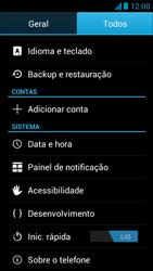Como restaurar as configurações originais do seu aparelho - Huawei Ascend G510 - Passo 4