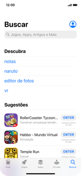 Como baixar aplicativos - Apple iPhone 11 Pro - Passo 8
