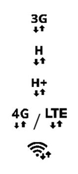 Explicação dos ícones - Samsung Galaxy S21 Ultra 5G - Passo 9
