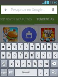 Como baixar aplicativos - LG Optimus L3 II - Passo 13