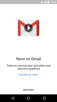 Como configurar seu celular para receber e enviar e-mails - Motorola Moto X Play - Passo 5