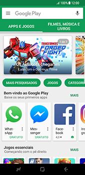Como baixar aplicativos - Samsung Galaxy S8 - Passo 5