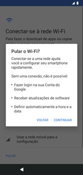 Como configurar pela primeira vez - Motorola Moto G7 Power - Passo 5