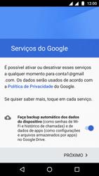 Como configurar seu celular para receber e enviar e-mails - Motorola Moto G5 - Passo 13