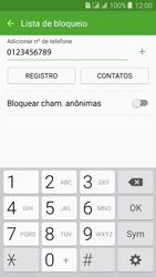 Como bloquear chamadas de um número específico - Samsung Galaxy J3 Duos - Passo 10
