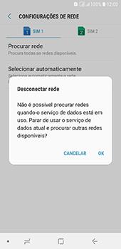 Como selecionar o tipo de rede adequada - Samsung Galaxy J6 - Passo 8