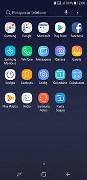 Como configurar seu celular para receber e enviar e-mails - Samsung Galaxy J6 - Passo 3