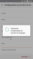 Como configurar seu celular para receber e enviar e-mails - Samsung Galaxy S6 - Passo 11