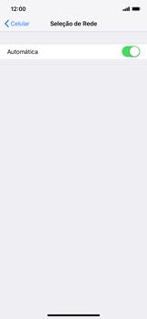 Como selecionar o tipo de rede adequada - Apple iPhone XR - Passo 4
