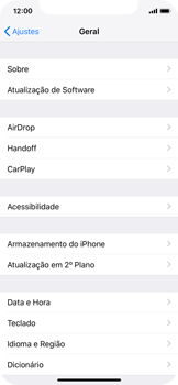 Como atualizar o software do seu aparelho - Apple iPhone X - Passo 4