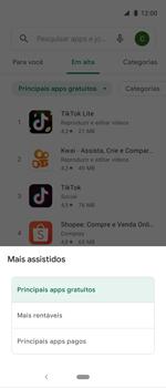 Como baixar aplicativos - Motorola One Action - Passo 7