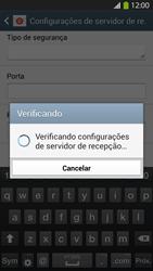 Como configurar seu celular para receber e enviar e-mails - Samsung Galaxy S IV - Passo 11