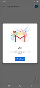Como configurar seu celular para receber e enviar e-mails - Samsung Galaxy A50 - Passo 14