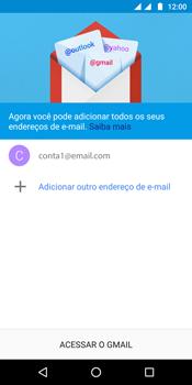 Como configurar seu celular para receber e enviar e-mails - Motorola Moto G6 Plus - Passo 20