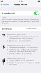 Como usar seu aparelho como um roteador de rede Wi-Fi - Apple iPhone 7 - Passo 7