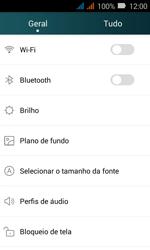 Como configurar uma rede Wi-Fi - Huawei Y3 - Passo 2