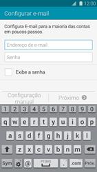 Como configurar seu celular para receber e enviar e-mails - Samsung Galaxy S5 - Passo 5