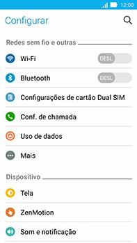Como configurar uma rede Wi-Fi - Asus ZenFone Go - Passo 3