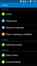 Como restaurar as configurações originais do seu aparelho - Samsung Galaxy Grand Prime - Passo 4