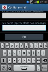 Como configurar seu celular para receber e enviar e-mails - Samsung Galaxy Young - Passo 20