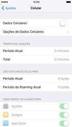 Como ativar e desativar uma rede de dados - Apple iPhone 6 - Passo 4
