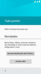 Como ativar seu aparelho - Motorola Moto G (3ª Geração) - Passo 16