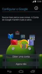 Como configurar pela primeira vez - Motorola Moto G (1ª Geração) - Passo 8