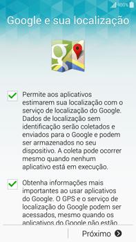 Como configurar pela primeira vez - Samsung Galaxy Note - Passo 10