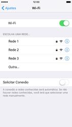 Como configurar uma rede Wi-Fi - Apple iPhone 7 - Passo 4