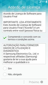Como configurar pela primeira vez - Samsung Galaxy Note - Passo 6