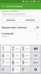 Como bloquear chamadas de um número específico - Samsung Galaxy J3 Duos - Passo 11