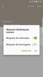 Como bloquear chamadas de um número específico - Samsung Galaxy S7 Edge - Passo 8